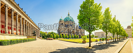 panoramic view at the famous berlin