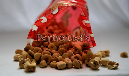 bag of sweet popcorn