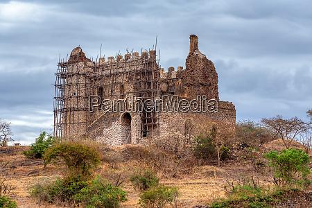 ruins of guzara royal palace gondar