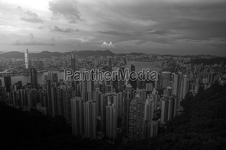 skyscrapers of hong kong which is