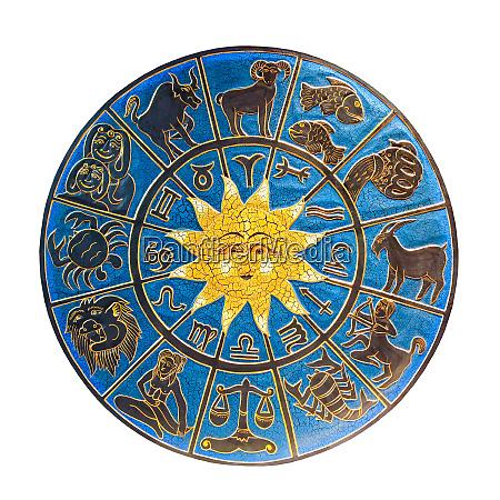 zodiac isolated