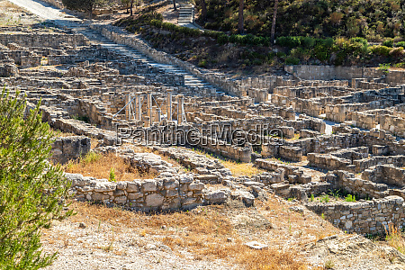 excavation site of the ancient city