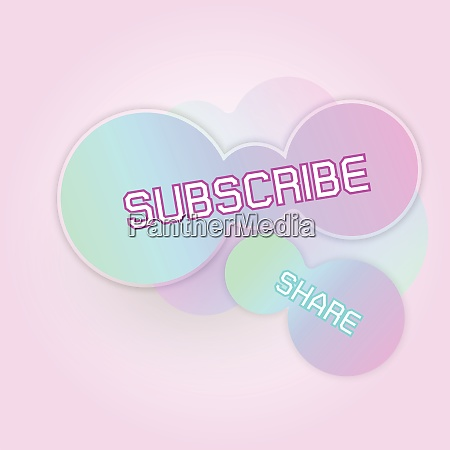 created gradient freeform subscribe banner
