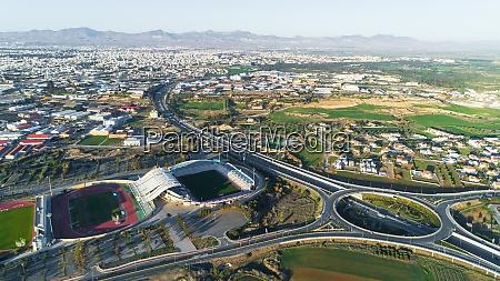 aerial gsp stadium nicosia