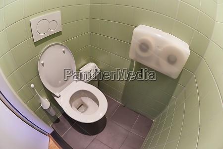 toilet seat open
