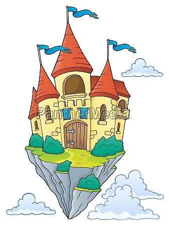 flying castle theme image 1