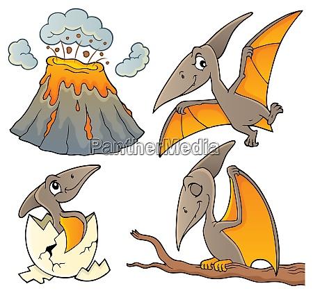 pterodactyls theme set 1