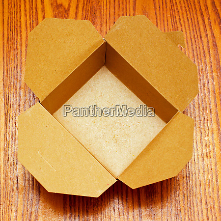 empty package carton