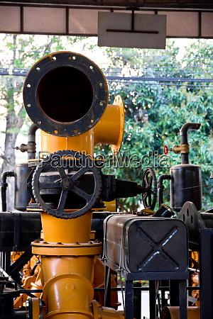 vintage machine engine