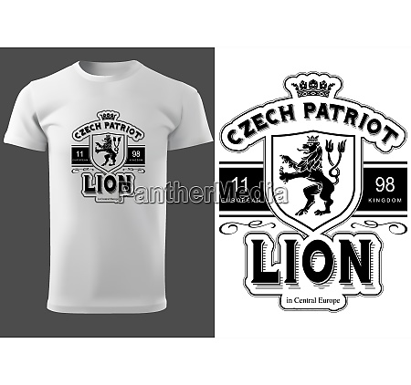 white t shirt design with lettering