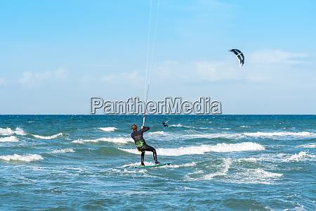 sailing windsurfing and kiteboarding the island