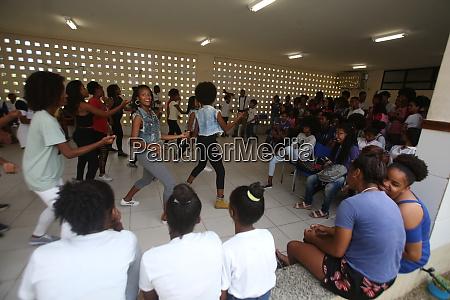 public school students in bahia