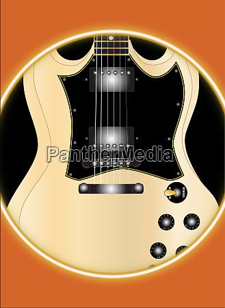 solid guitar