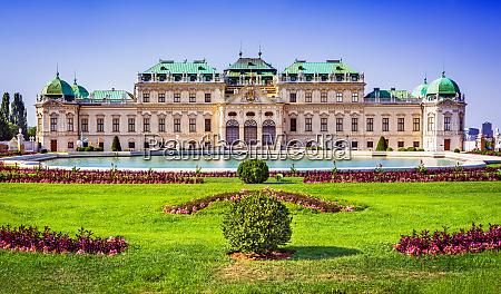 vienna austria upper belvedere