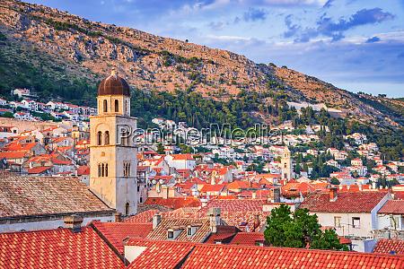 dubrovnik croatia medieval ragusa in dalmatia