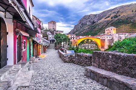mostar bosnia and herzegovina stari most