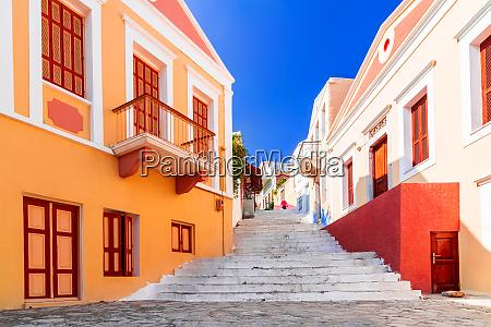 symi greece dodecanese greek islands