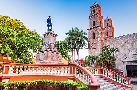 merida mexico yucatan peninsula in central
