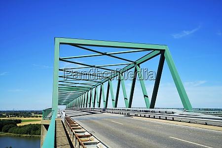 high bridge over the kiel canal