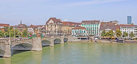 rhine bridge basel switzerland
