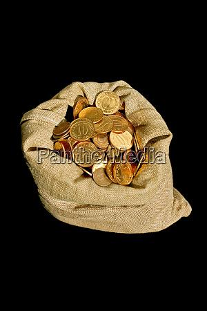 money in sack