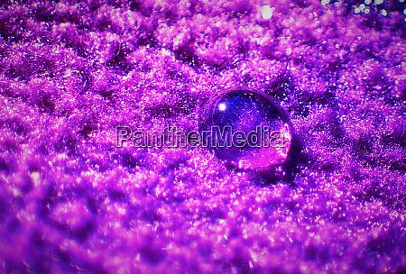 close up waterdrop