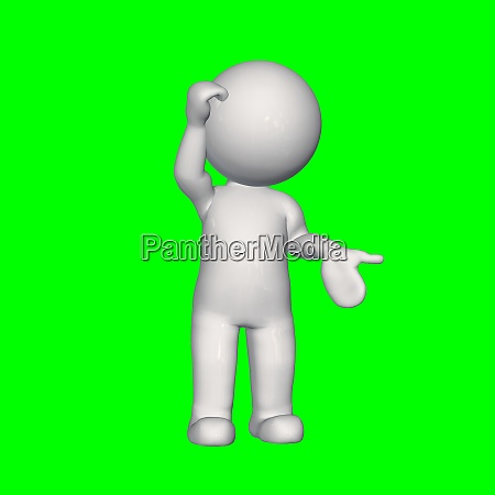 3d people in different poses