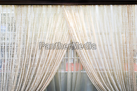 old curtains