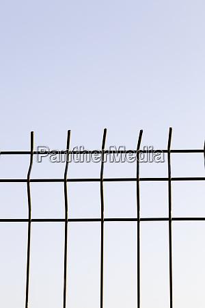 metal grate sky