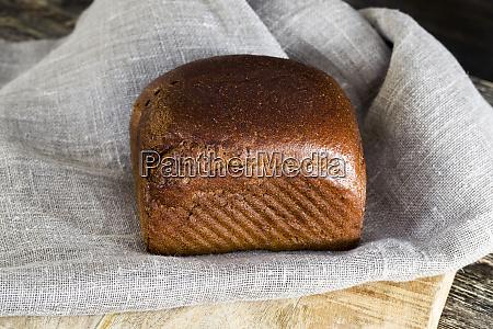 black square loaf
