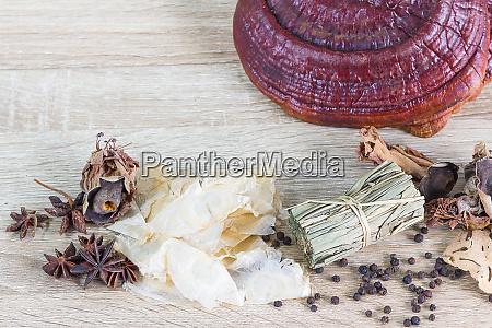 healthy thai food recipes concept