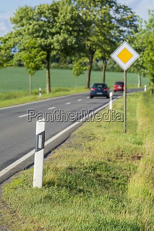landscape in the eifel in germany