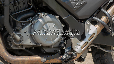 motorcycle engine detail of motorcycle engine