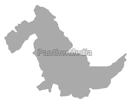 map of ucayali