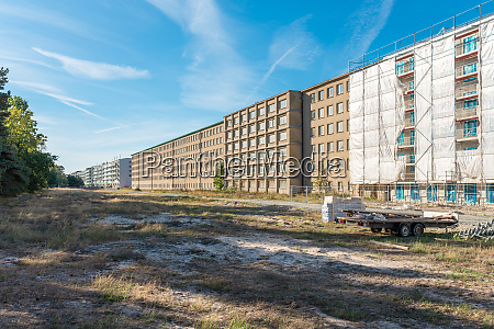 seaside of the colossus of prora