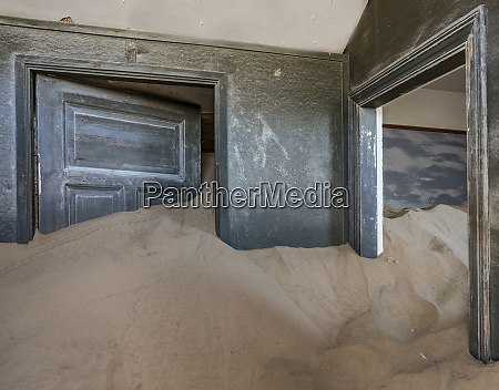 sand has invaded and taken over