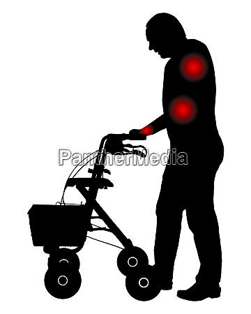 mann mit schmerzen in den armen