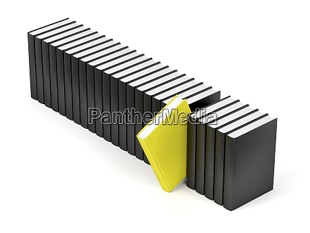 unique yellow book