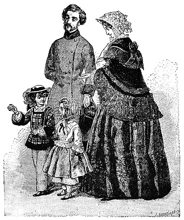 casual wear 1852 illustration of the