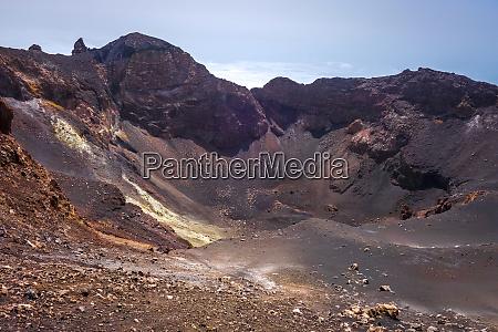 pico do fogo crater cha das
