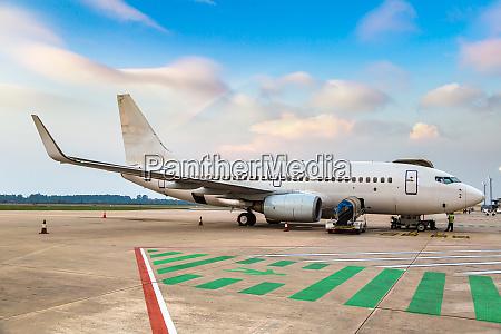 aircraft in noi bai airport hanoi