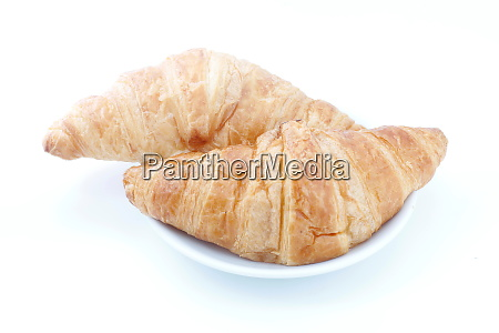 croissant croissant bread on plate on