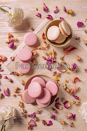 french macarons concept