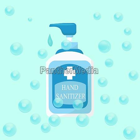 hand sanitizer bottle vector alcohol bottle