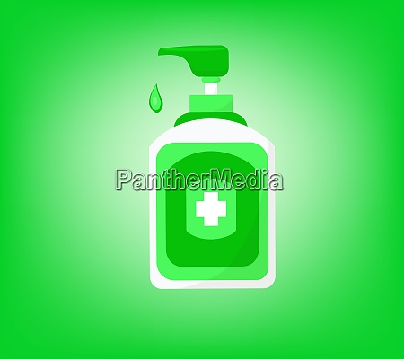 hand sanitizer bottle symbol