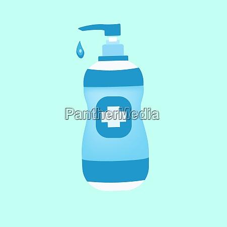 hand sanitizer bottle vector hand sanitizer