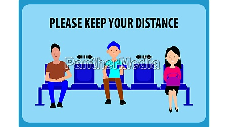 keep distance advice for social distancing