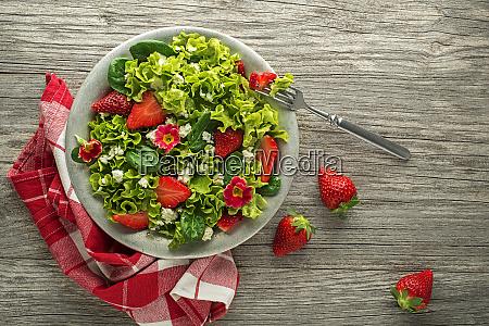 salad strawberry