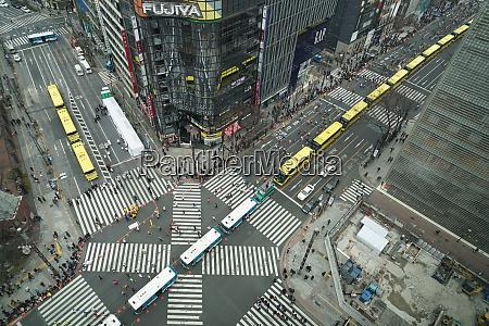 marathon and sukiyabashi intersection