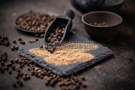 cooking ingredients concept